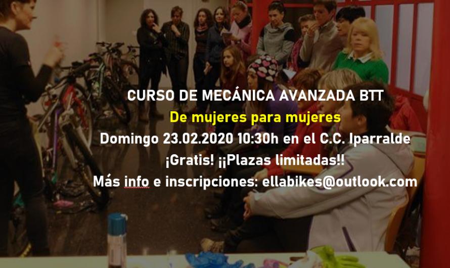 Curso de MECÁNICA AVANZADA BTT 23-02-2020
